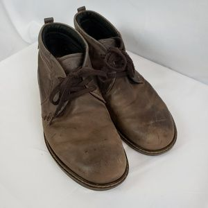 ECCO Gore-tex Chukka Mocha boots Nubuck size 44